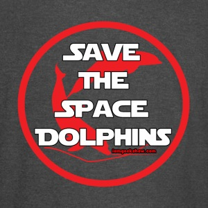 Save The Space Dolphins - Vintage Sport T-Shirt