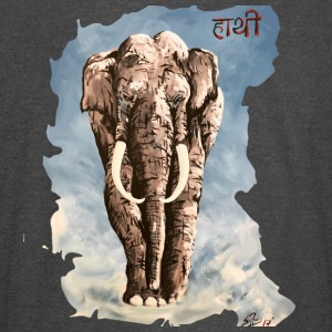 Indian Elephant Classic Design - Vintage Sport T-Shirt