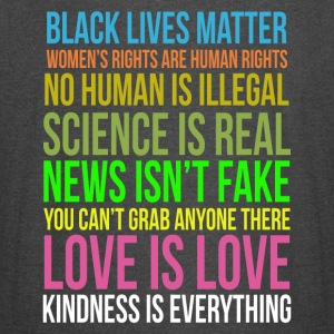 Kindness Is Everything Black Lives Love Is Love - Vintage Sport T-Shirt