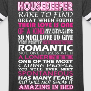 Housekeeper Rare To Find Romantic Amazing To Bed - Vintage Sport T-Shirt