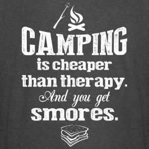 Camping Is Cheaper Than Therapy T Shirt - Vintage Sport T-Shirt