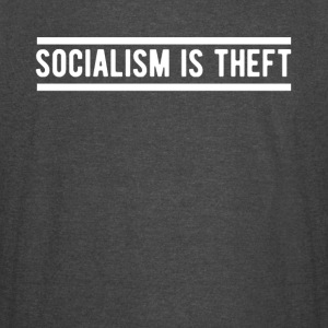 Socialism is Theft T-SHirt - Vintage Sport T-Shirt