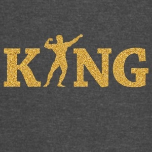 Fitness king - Vintage Sport T-Shirt