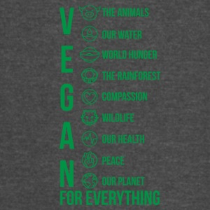 Vegan for everything Green - Vintage Sport T-Shirt