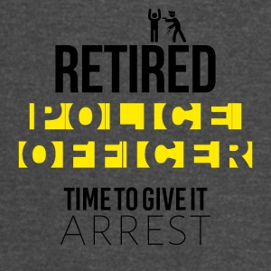 Retired police officer - Vintage Sport T-Shirt