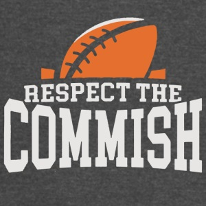 Respect the Commish Logo - Vintage Sport T-Shirt