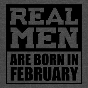 Real Men are Born in February - Vintage Sport T-Shirt