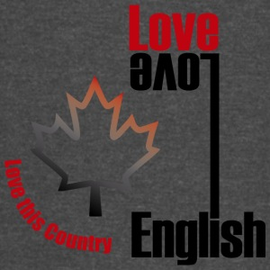 Love English, love Canada - Vintage Sport T-Shirt