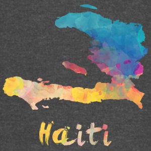Haitian Watercolor Country - Vintage Sport T-Shirt