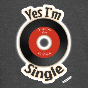 Single Like a 45 Record - Vintage Sport T-Shirt
