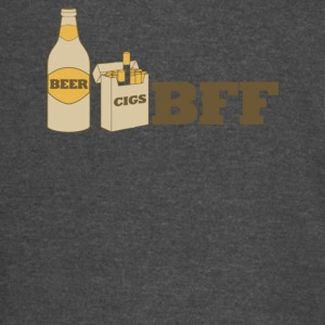Beer And Cigs Best Friends Forever - Vintage Sport T-Shirt