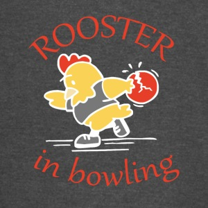 Rooster in Bowling - Vintage Sport T-Shirt
