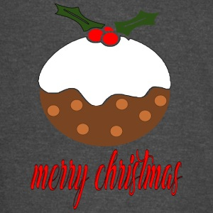 merry xmas christmas pudding - Vintage Sport T-Shirt