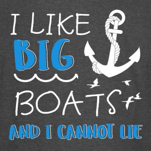 I like Big Boats - Vintage Sport T-Shirt