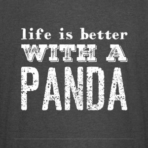 Life is better with a panda - Vintage Sport T-Shirt
