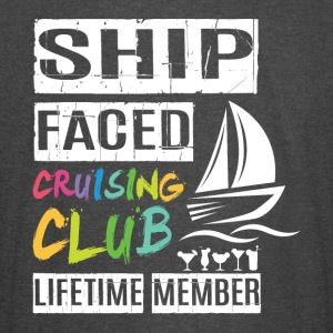 Ship Faced Cruising Club Lifetime Member T Shirt - Vintage Sport T-Shirt