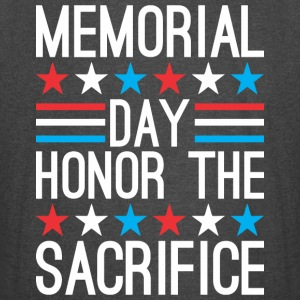Memorial Day Honor The Sacrifice - Vintage Sport T-Shirt