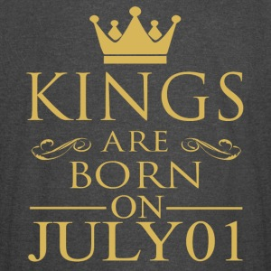 Kings are born on July 01 - Vintage Sport T-Shirt