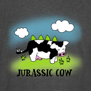 Jurassic Cow - Evolution of Milk - Vintage Sport T-Shirt