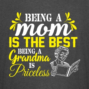 Being A Grandma Is Priceless T Shirt - Vintage Sport T-Shirt