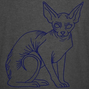 naked cat - Vintage Sport T-Shirt