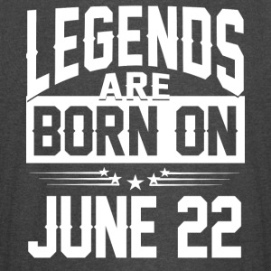 Legends are born on JUNE 22 - Vintage Sport T-Shirt