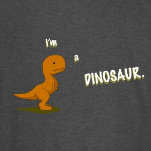 Cute I'm a dinosaur design for kids - Vintage Sport T-Shirt