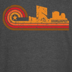 Retro Style Grand Rapids Michigan Skyline - Vintage Sport T-Shirt