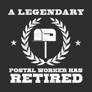 cd959ae461 Funny Post Office Retired Postal Worker Gift Idea - Unisex Vintage Sport T- Shirt