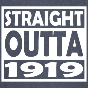 98th Birthday T Shirt Straight Outta 1919 - Vintage Sport T-Shirt