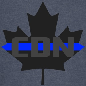 Thin Blue Line - CDN - Vintage Sport T-Shirt