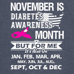 Diabetes Awareness Month Shirt - Vintage Sport T-Shirt