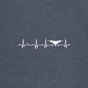 Drone Heartbeat x Frequency - Vintage Sport T-Shirt