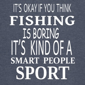 Fishing Smart Sport- cool shirt,geek hoodie,tank - Vintage Sport T-Shirt