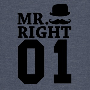 Mr Right 01 - Vintage Sport T-Shirt