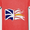 DISTRESSED WAVING NL FLAG - Vintage Sport T-Shirt