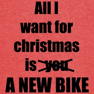 All I want for christmas is you a new bike - Vintage Sport T-Shirt