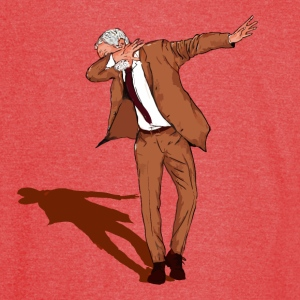 Jeremy Corbyn Labour 2017 DAB ON - Vintage Sport T-Shirt
