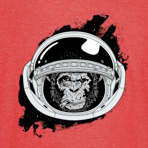Space monkey Black and white Art - Vintage Sport T-Shirt