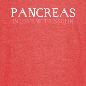 pancreas in love with insulin - Vintage Sport T-Shirt