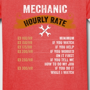 Mechanic Hourly Rate - Vintage Sport T-Shirt