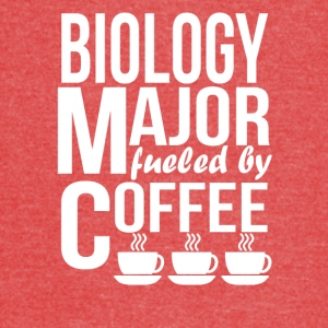 Biology Major Fueled By Coffee - Vintage Sport T-Shirt