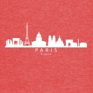 Paris France Skyline - Vintage Sport T-Shirt