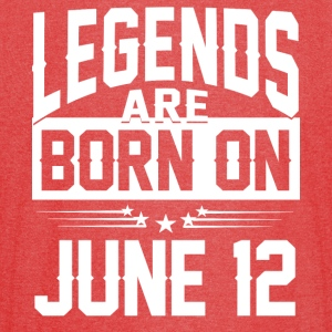 Legends are born on JUNE 12 - Vintage Sport T-Shirt