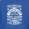First lesson Is Free Judo T Shirt - Men's Hoodie
