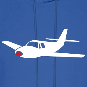 little airplane (variable colors!) - Men's Hoodie