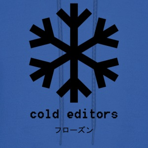 cold editors-frozen - Men's Hoodie