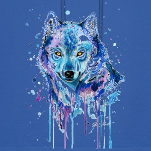 GIFT - COLORFUL WOLF - Men's Hoodie