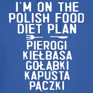 i m on the polish food diet plan pierogi kielbasa - Men's Hoodie