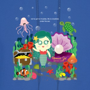 Mermaid Girl - Men's Hoodie